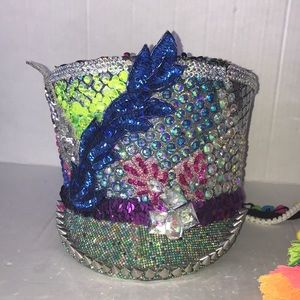 Accessories - Handmade burning man festival hat- marching band